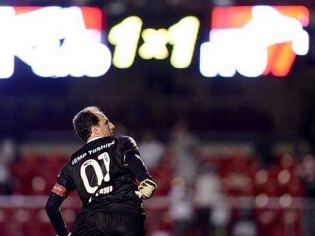 <p>Ceni falhou no gol do Ituano, mas São Paulo conseguiu vencer</p>
