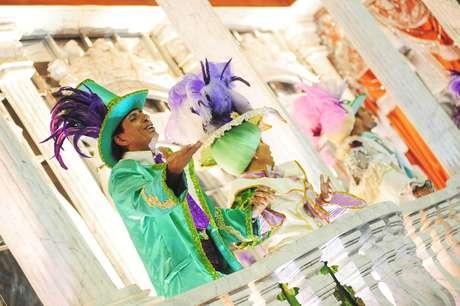 <p>Imperatriz Leopoldinense foi a terceira escola a se apresentar neste sábado (16), no Desfile das Campeãs do Carnaval do Rio de Janeiro</p>