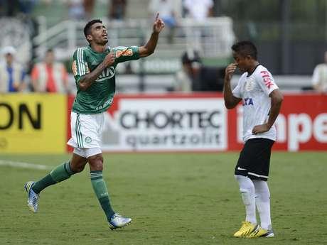 <p>Vilson empatou, e Palmeiras ganhou ânimo no jogo</p>