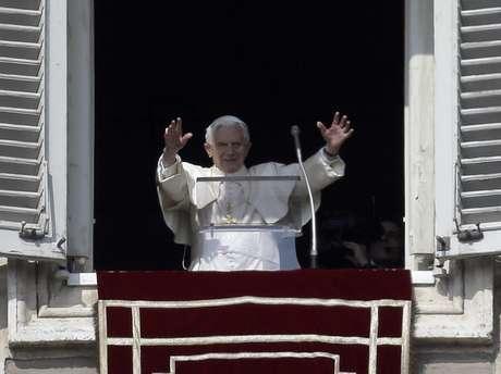 <p>El papa Benedicto XVI</p>