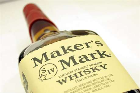 A bottle of Maker's Mark whiskey is pictured in New York May 9, 2012.