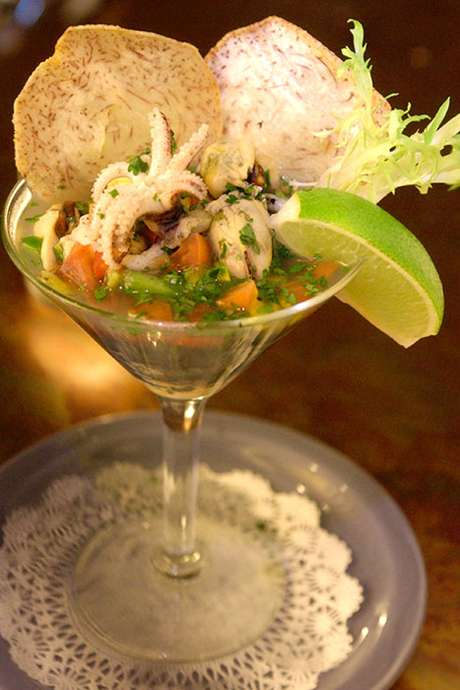 <p>El platillo predilecto de Rafael Correa es el ceviche. El presidente es amante de la comida ecuatoriana, en especial la costeña.</p>