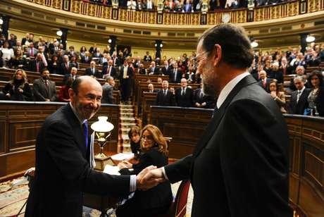 Rajoy y Rubalcaba se enfrentan por primera vez en un debate sobre el estado de la nación
