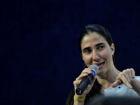 <p>Yoani participoude uma palestra e concedeuentrevista coletiva nesta quinta-feira, em São Paulo</p>