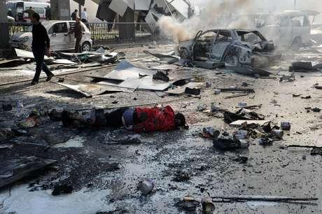 <p>Atentado em Damasco deixou dezenas de pessoas mortas na quinta-feira</p>