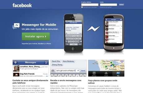 O aplicativo permite gravar mensagens de voz para enviar aos contatos do Facebook