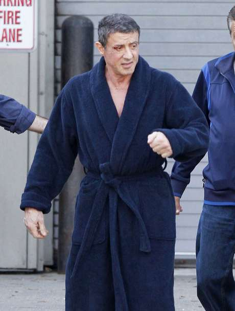 <p>O animal foi encontrado na propriedade de&nbsp;Stallone</p>