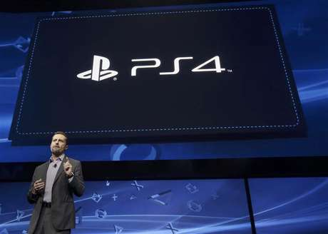 Andrew House, president and Group CEO of Sony Computer Entertainment, speaks during the unveiling of the PlayStation 4 launch event in New York, February 20, 2013.