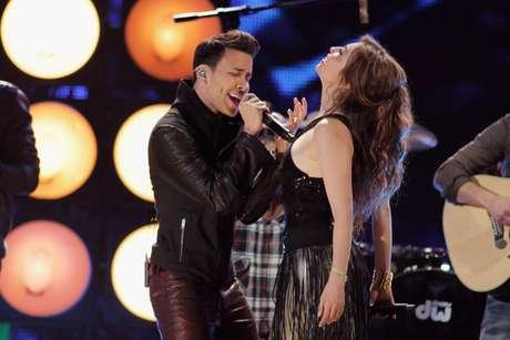 <p>Un show que subió la temperatura del escenario fue el de Thalía y Prince Royce, uno de los más esperados de la noche, quienes al ritmo de la apasionada bachata 'Te perdiste mi amor', deslumbraron.</p>