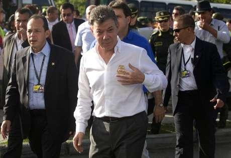 Los caficultores rechazan que el presidente Juan Manuel Santos haya dicho en varias oportunidades que el paro tiene motivaciones políticas.