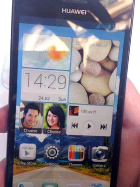 La prensa pudo probar el nuevo P2 de Huawei, que costará $399 euros.
