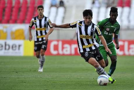 Lodeiro fez o gol de empate do Botafogo contra o Boavista
