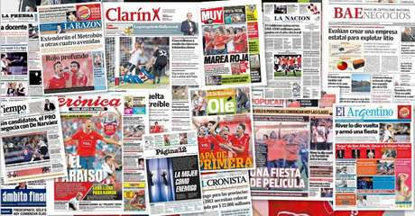 Repasá las tapas de los diarios de este lunes 25 de febrero