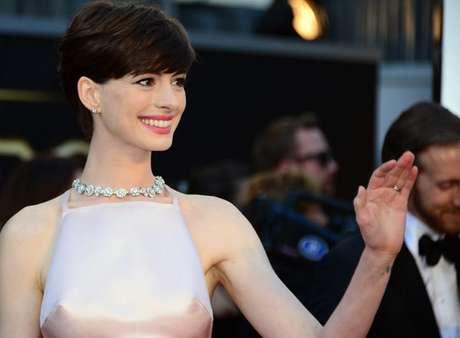 <p>¿Te gustó el vestido de Anne Hathaway?</p>