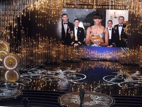 Michelle Obama anuncia Oscar a la Mejor Película