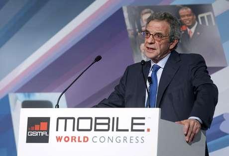 CEO da Telefônica, César Alierta, participou de conferência na abertura do Mobile World Congress