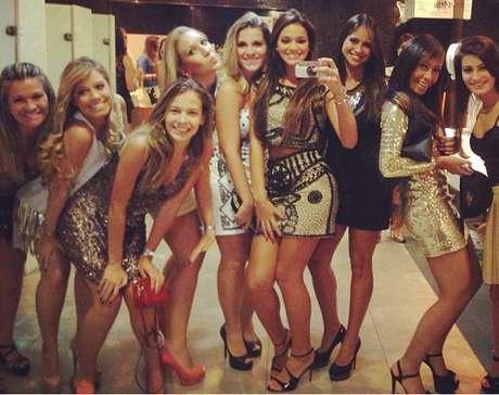 <p>O jogador comemorou o aniversário em um clube noturno na capital paulista</p>
