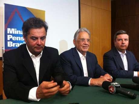 <p>FHC participou de seminário do PSDB em Minas Gerais</p>