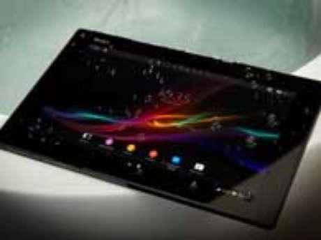 <p>Tablet Z, da Sony, deverá ser lançado na América Latina até o final de março</p>