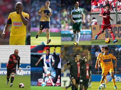 <p>Here we show you the players that have decided to adopt Mexico as their second country, who no longer take a foreigner spot to improve their signing, that is those not born in Mexico that became naturalized.</p>