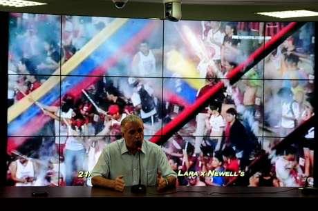 <p>Roberto de Andrade criticou condições oferecidas ao Corinthians para jogo pela Libertadores</p>