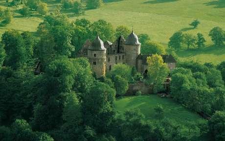 <p>Castelo de Dornröschenschloss Sababurg inspirou o conto da Bela Adormecida</p>
