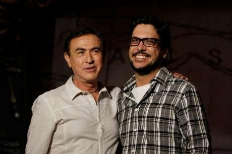 O ator esteve no programa do Amaury Jr.