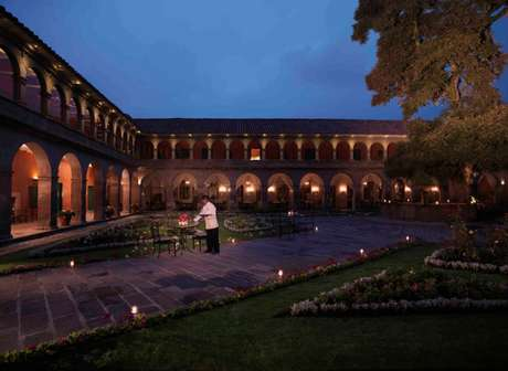 <p>Hotel Monasterio, Cusco, Peru</p>
