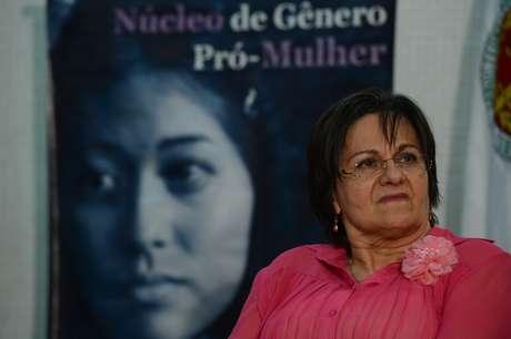 <p>Maria da Penha participa depalestra promovida pelo Ministério Público do Distrito Federal e Territórios</p><p></p>