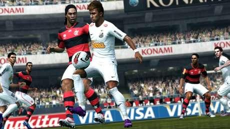 <p>Ronaldinho no Flamengo?Novo DLC do 'PES 2013' atualiza o mercado de transferências</p>