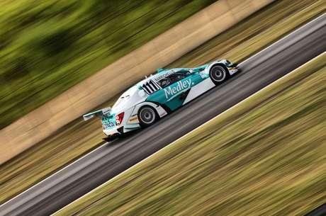 <p>Barrichello parou no Q1 do classificatório e sairá em 14º</p>