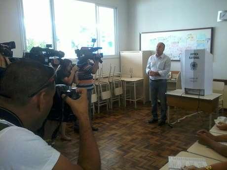 <p>Búrigo, do PP, conquistou a vitória em Criciúma com 72,27% dos votos</p>
