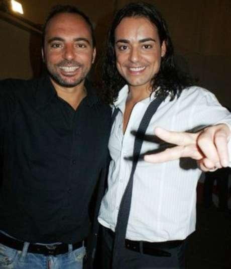Jordi Llunas junto a su hermano Marcos.