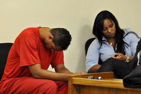 <p>O goleiro Bruno e a ex-mulher, Dayanne,são julgados pelo desaparecimento e morte de Eliza Samudio</p>