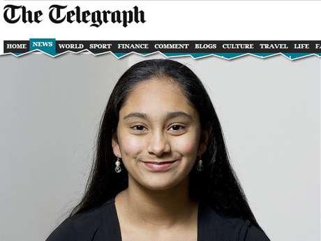 <p>Apesar do sucesso, Neha disse que achou o teste muito difícile não esperava o resultado tão brilhante</p>