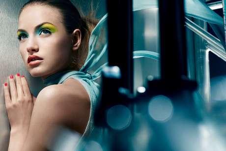 Maquillaje de ojos propuesto por la firma Yves Saint Laurent