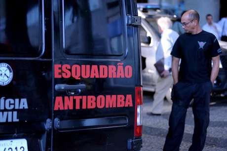 Prédio da OAB no Rio de Janeiro foi esvaziado após explosão, na tarde desta quinta-feira