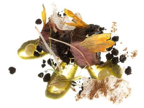 <p>La carta está dividida en platillos de evolución y otros más clásicos, muchos incorporan ingredientes mexicanos.</p>