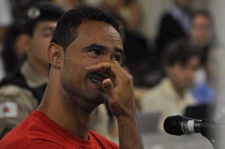<p>Goleiro Bruno permanece preso em Minas Gerais</p>
