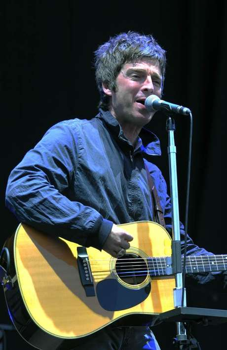 <p>Noel Gallagher é fã do Manchester City</p>