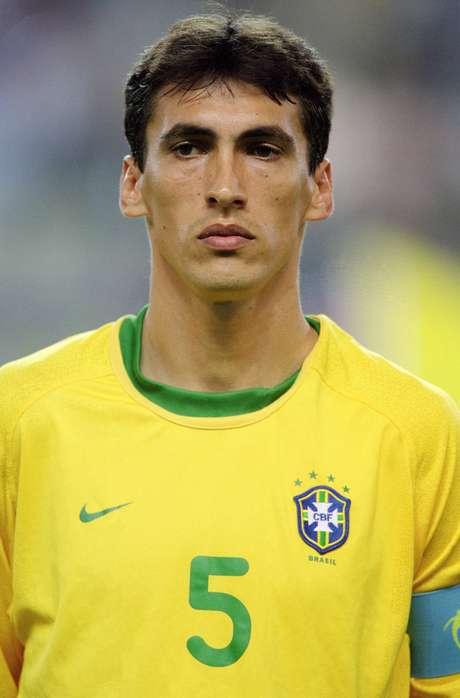 <p>Leomar foi convocado em 2001 por Leão</p>