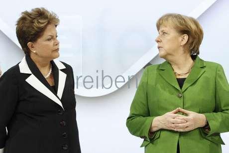 Rousseff y Merkel, las mujeres más poderosas del mundo.