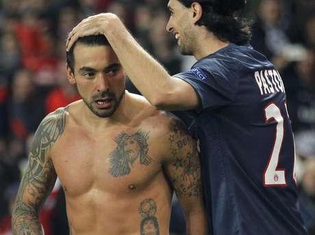 <p>Lavezzi pode substituir Di Maria na sele&ccedil;&atilde;o argentina</p>
