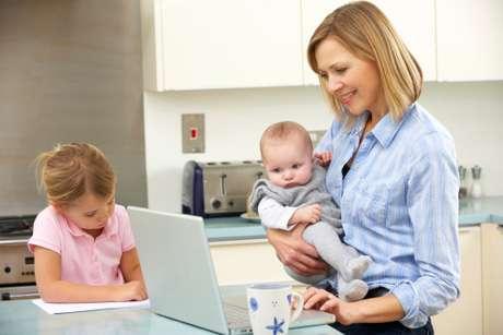 Es indudable que una madre en activo necesita mucho talento organizativo.