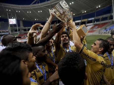 <p>Ferj ameaçou não entregar a Taça Guanabara ao Botafogo</p>