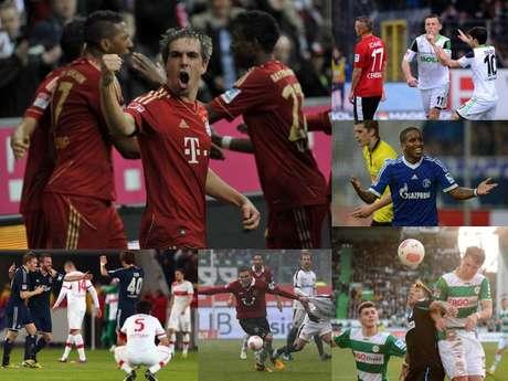 <p>Bayern Múnich es el virtual campeón de la Bundesliga, ya que llegó a 66 puntos, sacándole una ventaja de 20 a Borussia Dortmund que se quedó en 46 unidades.</p>