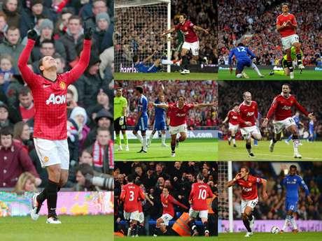 <p>Revive cada uno de los siete goles que el'Chicharito' le ha hecho al Chelsea</p>