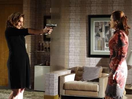 <p>Wanda e Berna discutem</p>