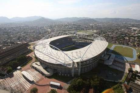 <p>Estádio Olímpico João Havelange receber as Confederações deste ano não seria tão improvável assim</p>