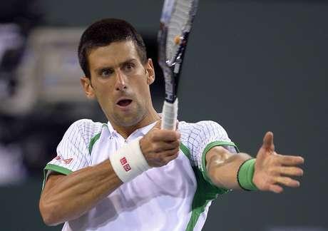 Djokovic levou susto, mas não deixou vitória escapar em Indian Wells